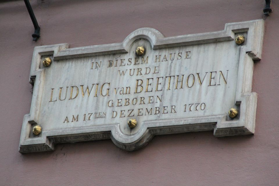 Beethovenhaus_-_Placa