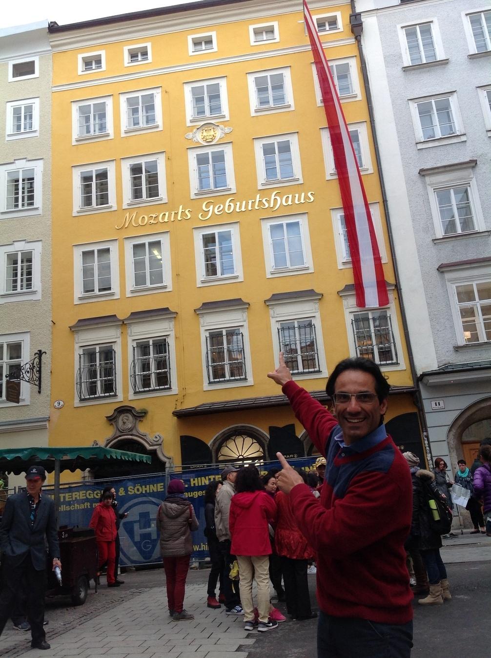 Alvaro Siviero em Salzburg